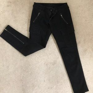 DL1961 black cargo pants